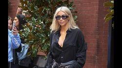 Kim Kardashian folle avec son