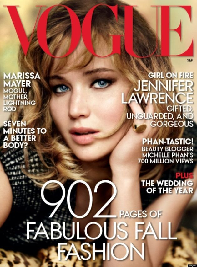 Jennifer Lawrence's Vogue September 2013 Cover Leaks! (VIDEO,