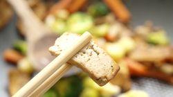 Le tofu, plein