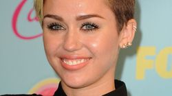 Miley Cyrus Wears Shortest Skirt