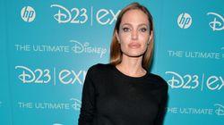 LOOK: Angelina Shows Off Her Dark