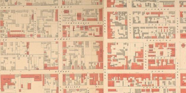 Toronto 1858 'Google' Map Is A History Nerd's