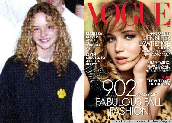 Jennifer Lawrence Laments Hair In Vogue September 2013 Cover Story