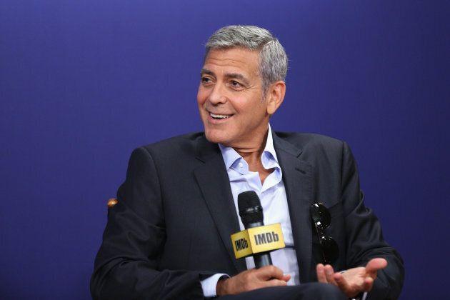 George Clooney pleure 4x par jour puisque sa job de papa