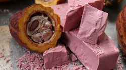 Le chocolat naturellement rose existe