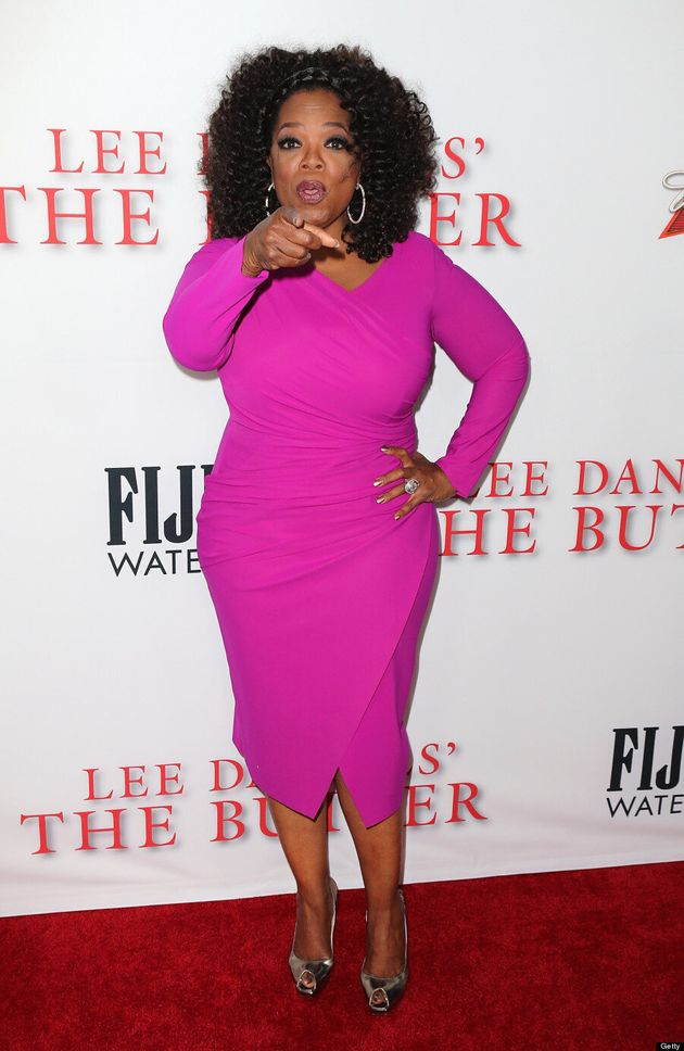 Oprah Winfrey's 'The Butler' Dress Is Making Us Jealous (VIDEO,