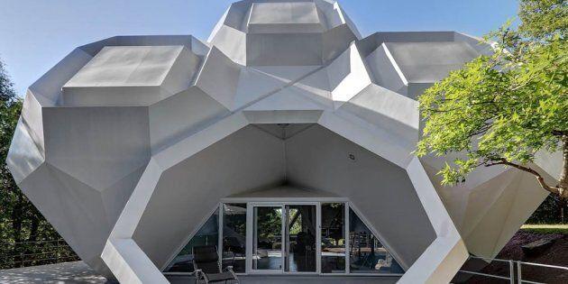 Cette incroyable maison géométrique située au Québec vous fera