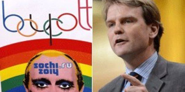 Gay Russians May Find Safe Haven In Canada, Chris Alexander