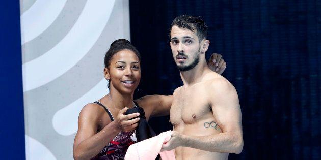 Jennifer Abel et François Imbeau-Dulac remportent la médaille de bronze aux