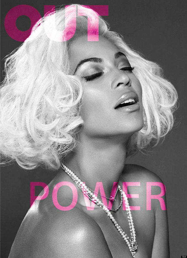 Beyonce Goes Topless For Out Magazine, Stays