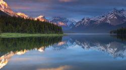 Jasper's Maligne Lake In
