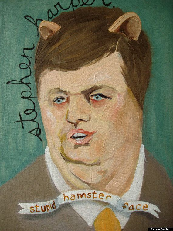These Portraits Sum Up How Artists Really Feel About Stephen