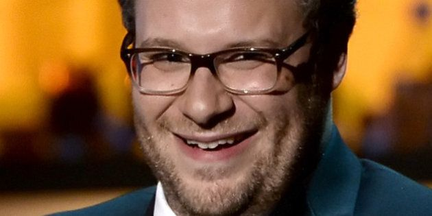 CULVER CITY, CA - AUGUST 25: Roast Master Seth Rogen speaks onstage during The Comedy Central Roast of...
