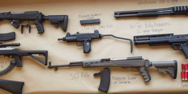 Routine Vancouver Police Traffic Stop Results In Big Gun