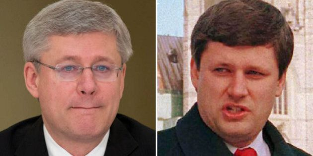 Stephen Harper's Electoral Reform View Starkly Different In
