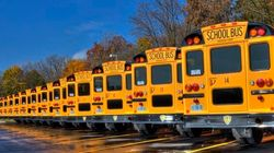 School Bus Collides With