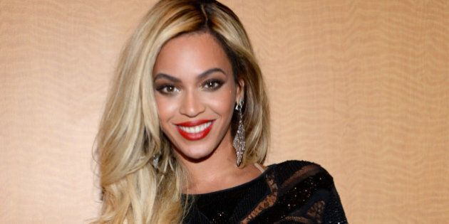 NEW YORK, NY - FEBRUARY 02: Entertainer Beyonce attends the DirecTV Super Saturday Night at Pier 40 on...