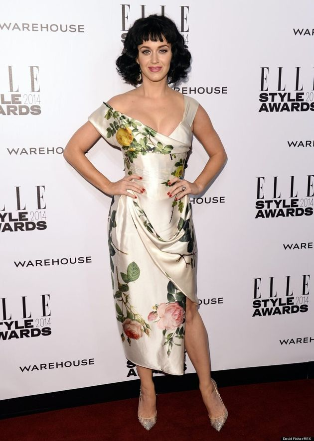 Katy Perry Named 2014 Elle Woman Of The Year In Bad Haircut