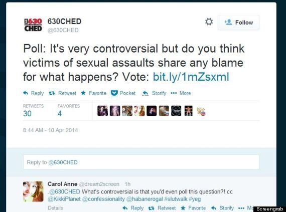 Edmonton Radio Station 630 CHED Asks Twitter The Worst