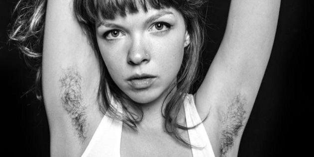 Stunning Images of Women's Armpit Hair Redefine Beauty