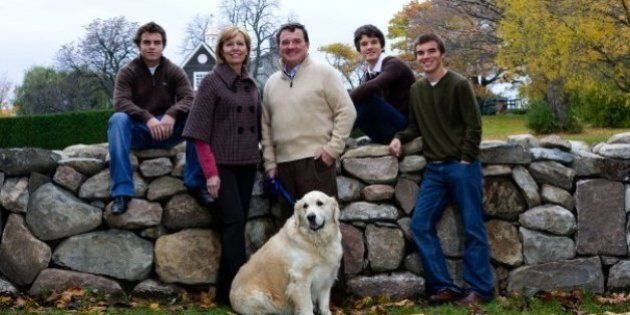 Jim Flaherty's Wife, Triplet Sons Mourn His Sudden Death At