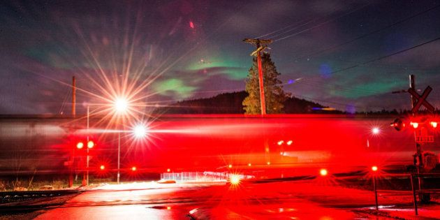 Northern Lights Pictures Taken In Vancouver Are Stunning