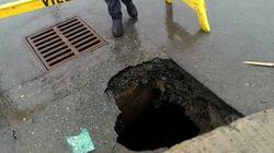St. John's Pothole Might Be Canada's