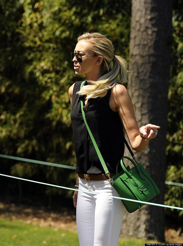 Paulina Gretzky Flaunts Svelte Figure At Masters After Golf Digest