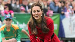 Kate Wears High Heels For Cricket