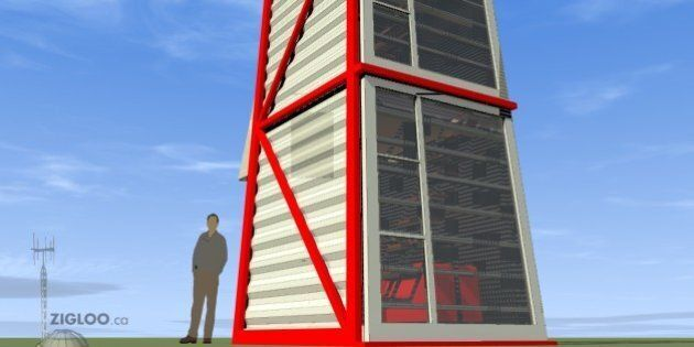 Shipping Container Home Stands Up For Maximum