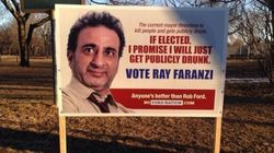 Fake Toronto Election Signs Poke Fun At Rob