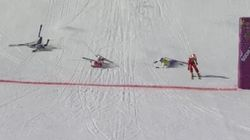 INSANE Photo Finish In Ski