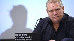 Doug Ford Won't Run For Ontario