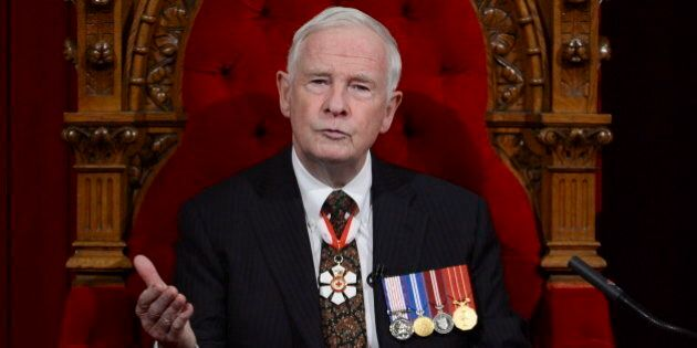 Throne Speech 2013: Full Text Of Remarks Delivered By Gov. Gen. David