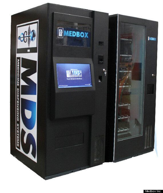 Pot Vending Machines Coming To Canada, Medbox