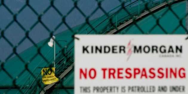 Greenpeace Kinder Morgan Protest Could Lead To