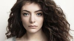 Lorde Posts Un-Retouched Photo Of Her Skin, Flaws And