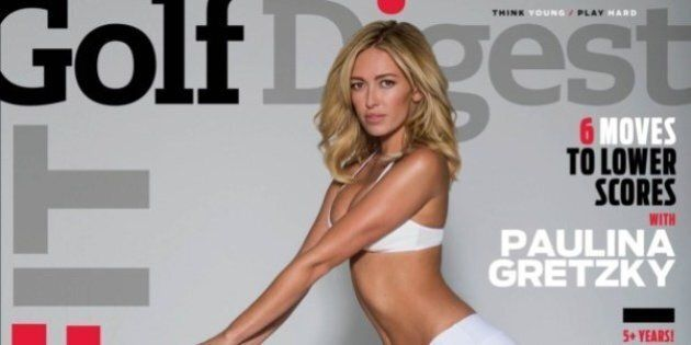 Paulina Gretzky Covers Golf Digest Wearing Skimpy Outfit, Natch
