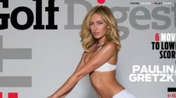 Paulina Wears Skimpy Outfit On Golf Digest