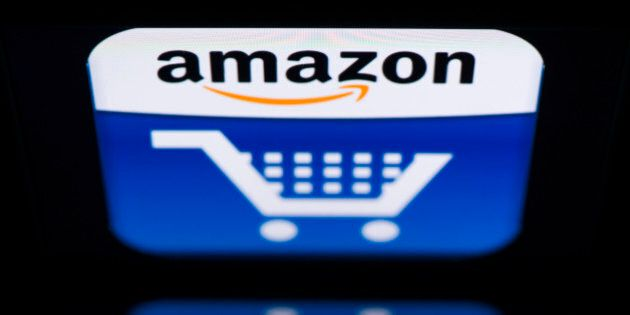 A picture shows an Ipad with an 'Amazon' logo on November 13, 2012 in Paris. French tax authorities have...