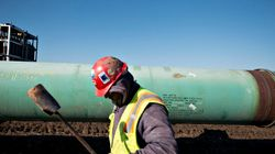 Pipeline Leak Being