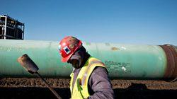 Pipeline Leak Being