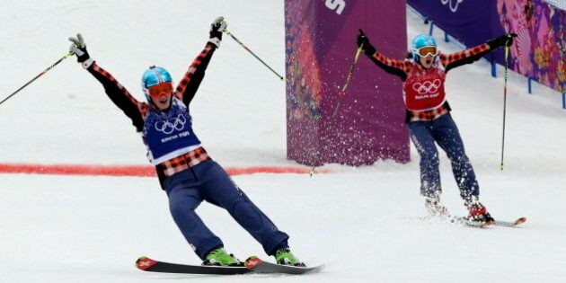 Marielle Thompson And Kelsey Serwa Win Gold, Silver In Women's Olympic Ski