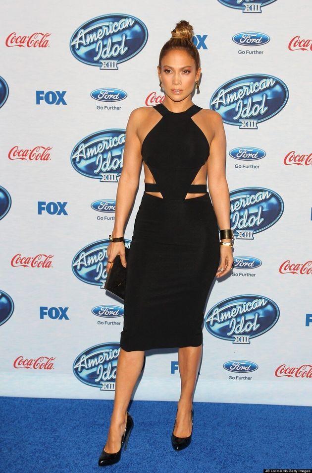 Jennifer Lopez Can Rock A Cutout Dress Like No One Else