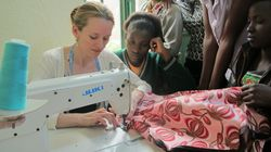 Canadian Fashion Designer Gives Rwandan Women a