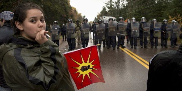 Elsipogtog Protest Sparks Fears Among B.C. First
