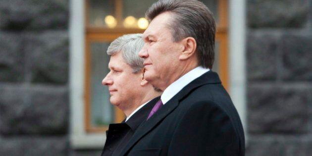 Harper: Ukrainian Regime To Be Judged An Actions, Not