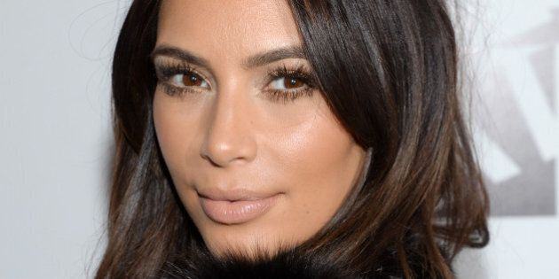 Television personality Kim Kardashian attends a Generation NXT Dream Foundation benefit event at 1 Oak...