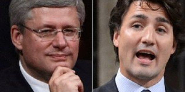 Trudeau Liberals Lead Harper Tories By 10 Points, Poll