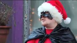 WATCH: BatClaus Saves